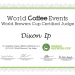 WBrC Judge Certificate - Dixon Ip