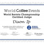 WBC Judge Certificate - Dixon Ip